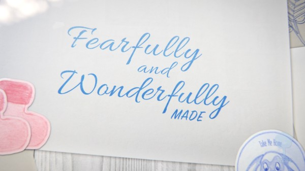 Fearfully and Wonderfully Made Preschool Worship Video