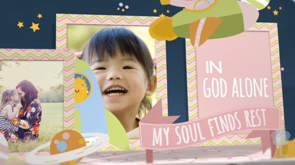 My Soul Finds Rest Preschool Worship Video