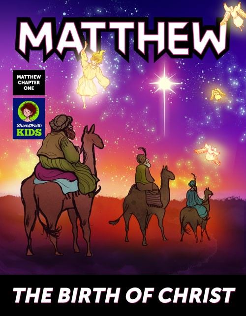 The Birth of Jesus Digital Bible Comic