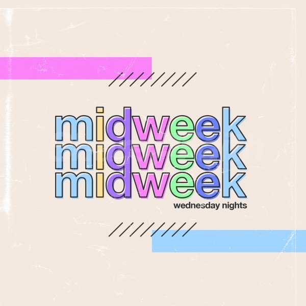 Midweek Wednesday Social Media Graphic