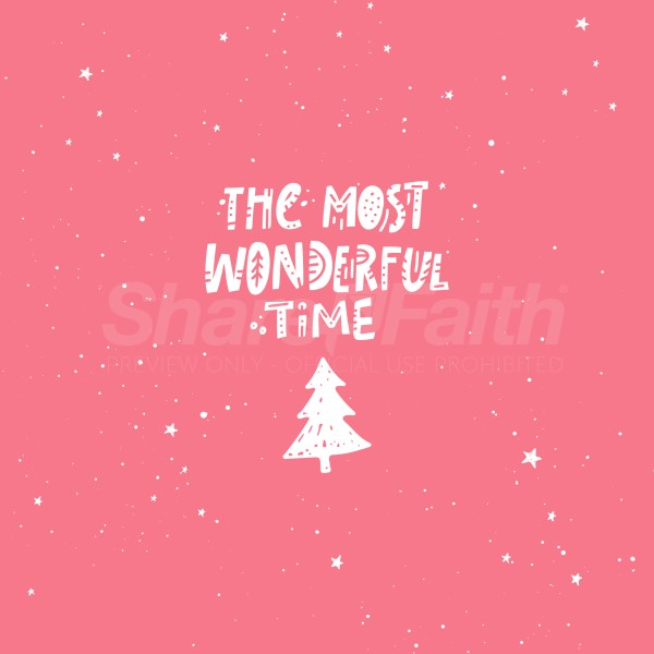 Most Wonderful Time Social Media Graphic