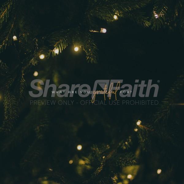 Grateful Christmas Social Media Graphic