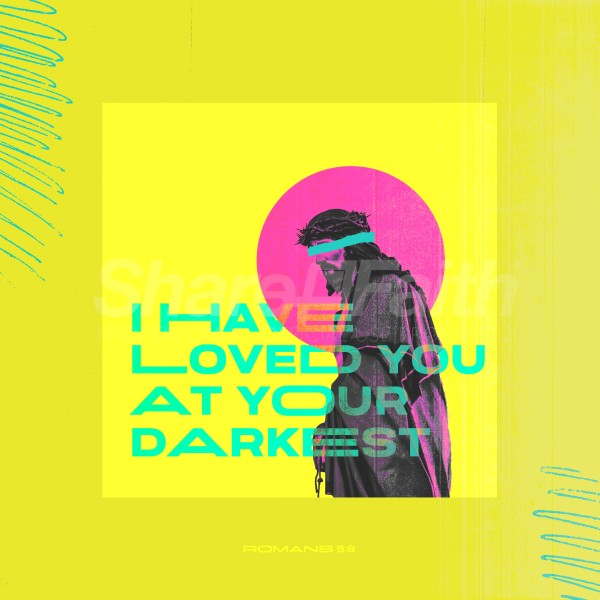 Darkest Love Social Media Graphic