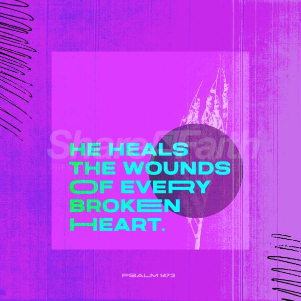 Healer Of Hearts Social Media Graphic