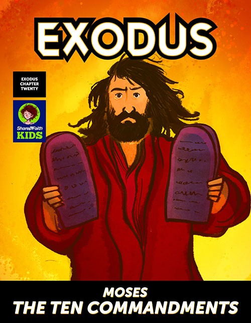 Exodus 20 Moses and the Ten Commandments