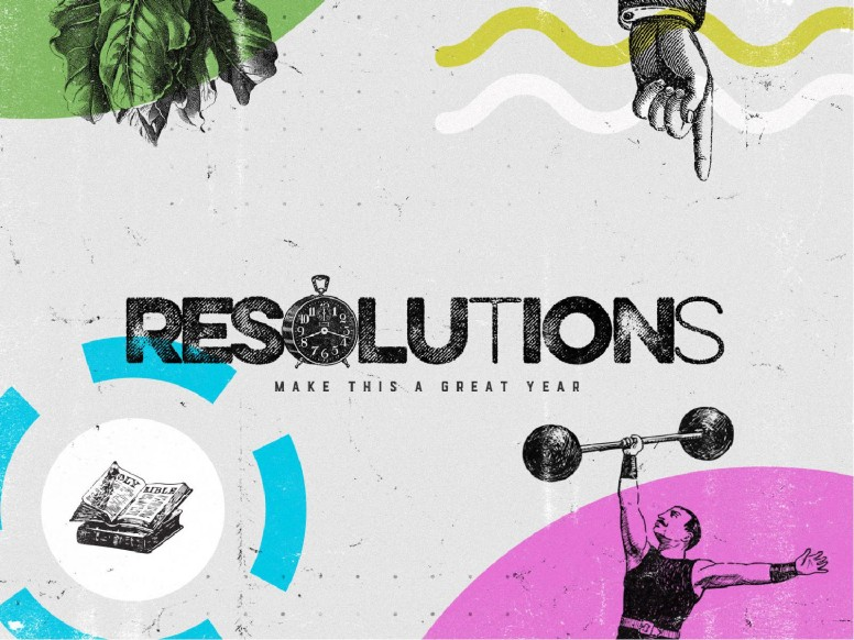Resolutions Great Year Church PowerPoint