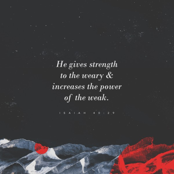 Strength And Power Social Media Graphic