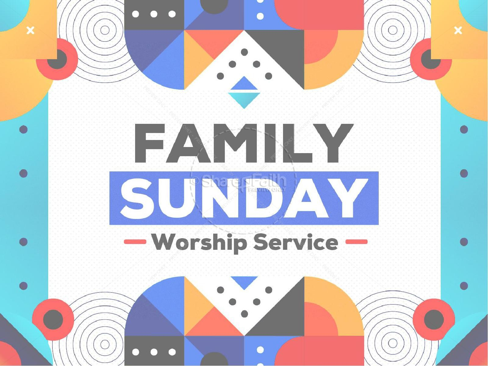 Family Sunday Worship Church PowerPoint