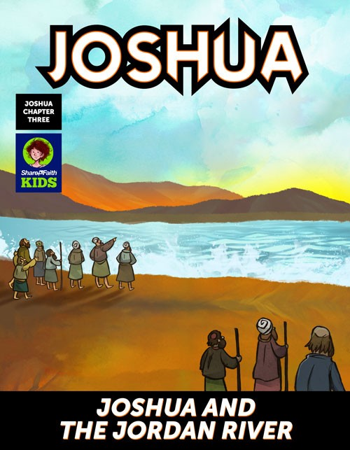 Joshua 3 Crossing the Jordan River Digital Comic
