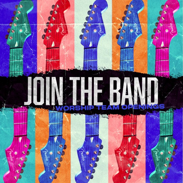 Join The Band Social Media Graphic