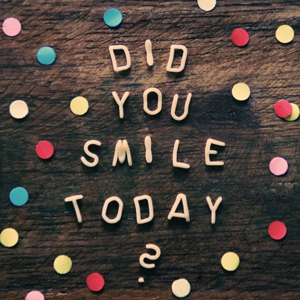 Did You Smile Social Media Graphic