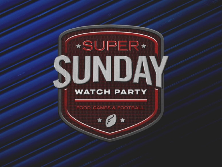 Super Sunday Blue Church PowerPoint