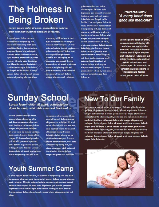 Super Sunday Blue Church Newsletter