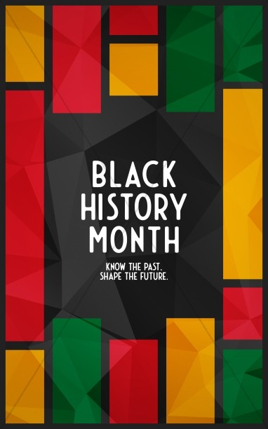 Black History Church Bifold Bulletin