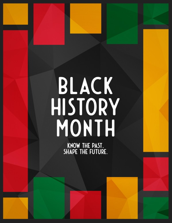 Black History Church Flyer