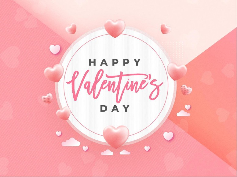 Valentine's Day Pink Church PowerPoint