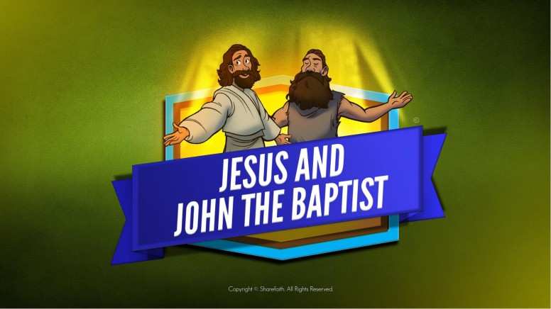Matthew 11 Jesus and John the Baptist Kids Bible Story