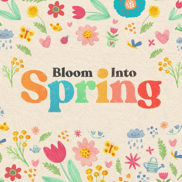 Spring Blooms Social Media Graphic