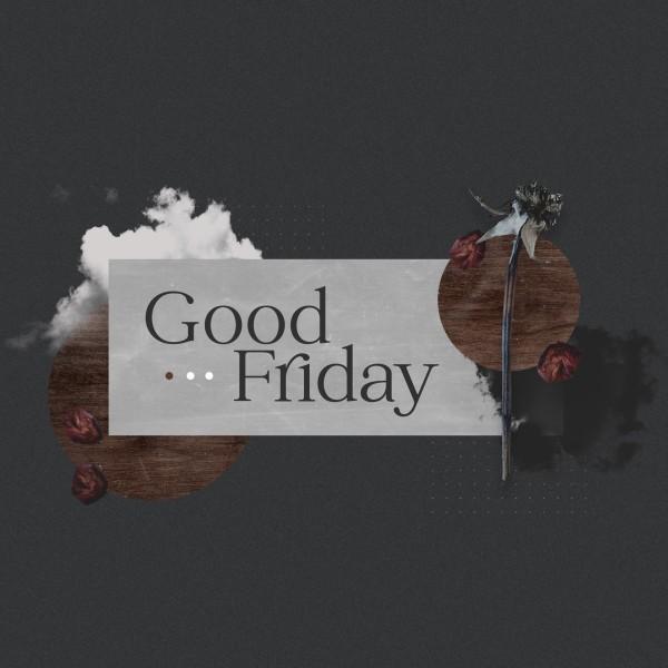 Good Friday Cloud Social Media Graphic