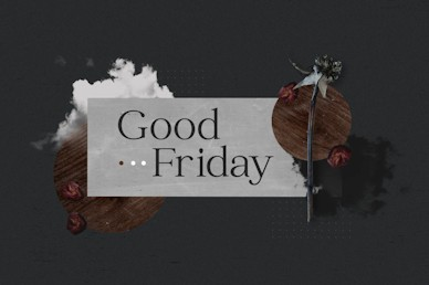 Good Friday Cloud Title Church Video