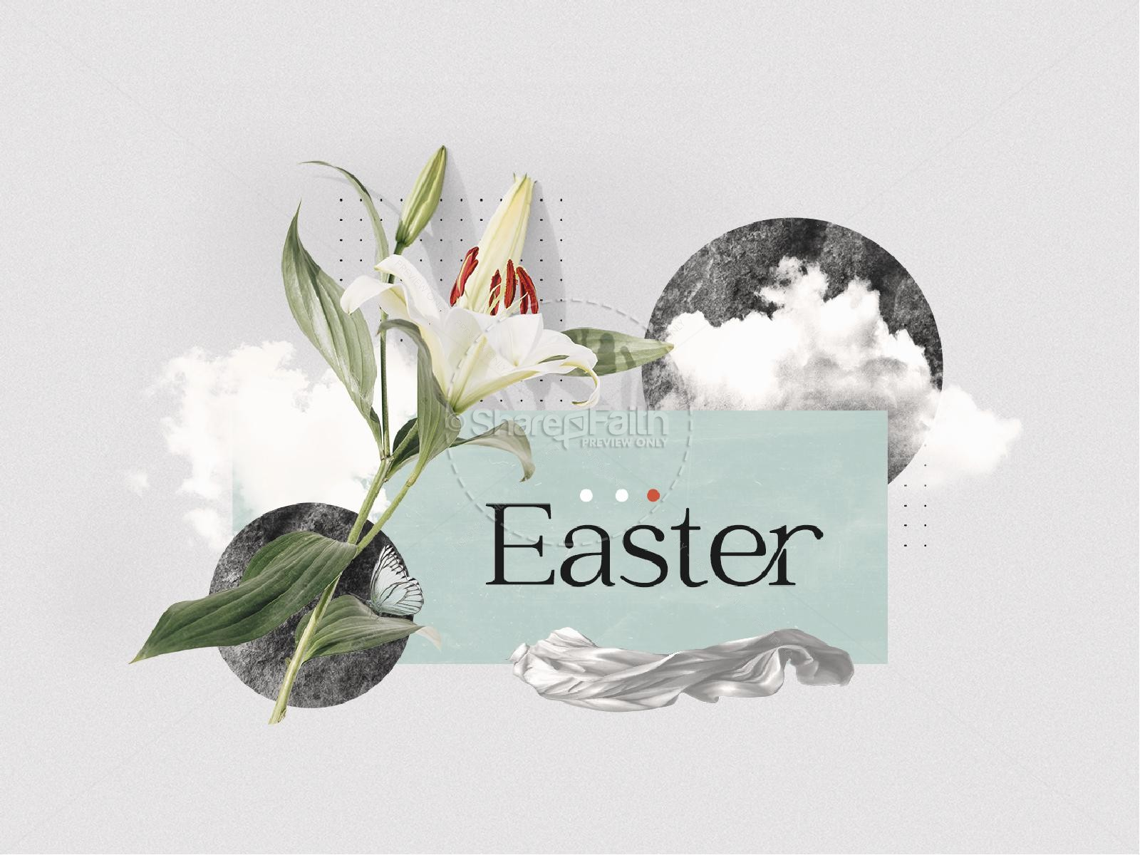 Easter Lily Church PowerPoint