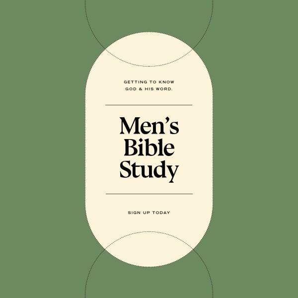 Men's Bible Study Social Media Graphic