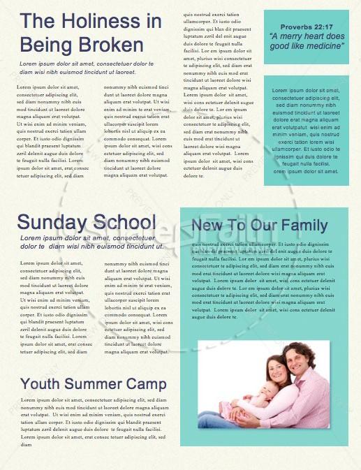 Egg Hunt Spectacular Church Newsletter