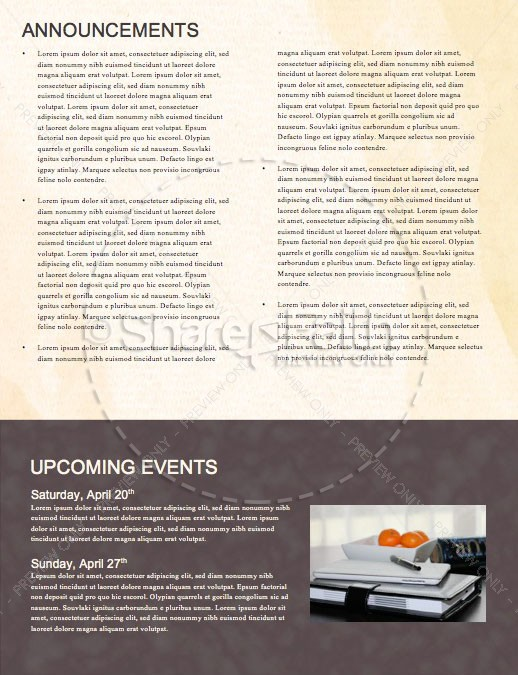 Easter Resurrection Church Newsletter