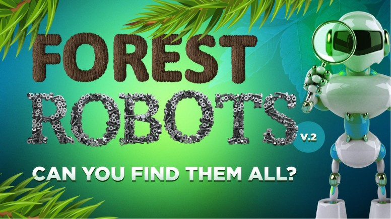 Forest Robots PowerPoint Game Volume 2