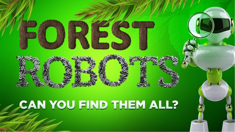 Forest Robots PowerPoint Game