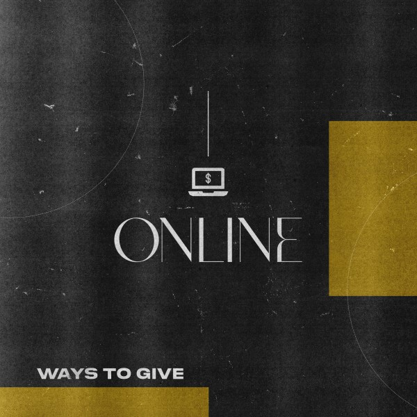 Give Online Yellow Social Media Graphic