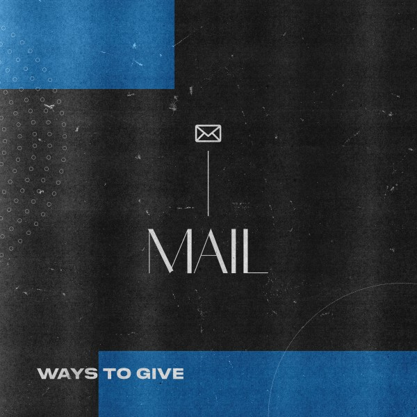 Mail Blue Social Media Graphic