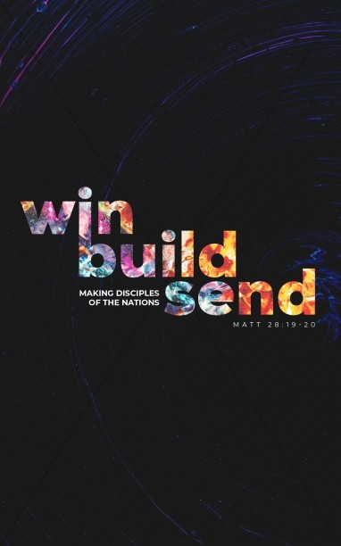 Win Build Send Church Bifold Bulletin