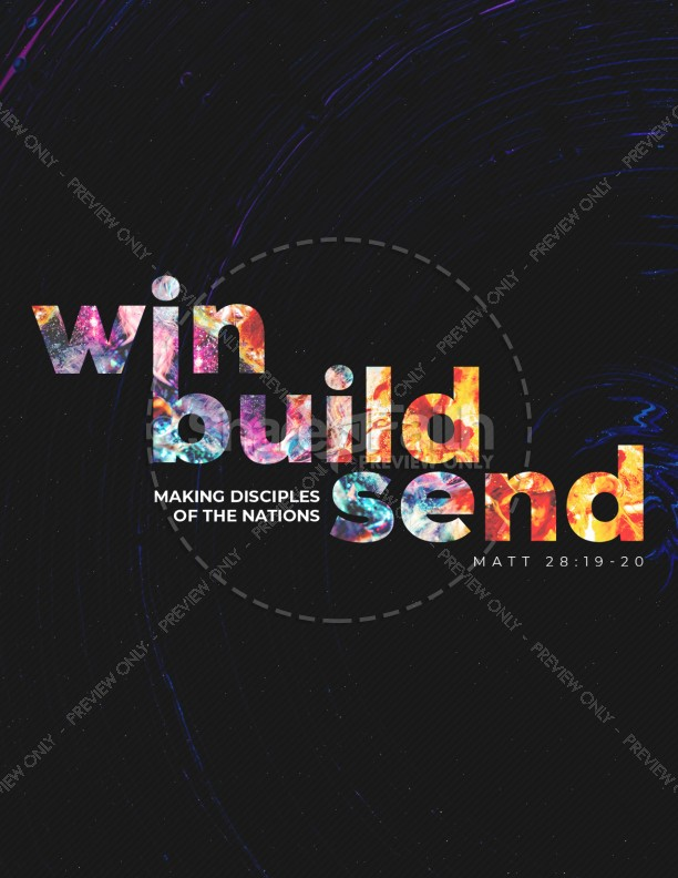 Win Build Send Church Flyer