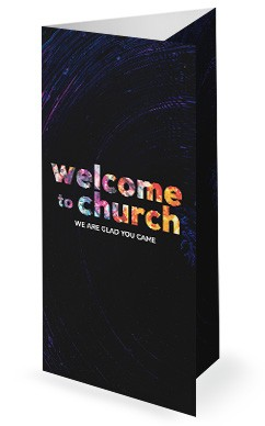 Win Build Send Church Trifold Bulletin