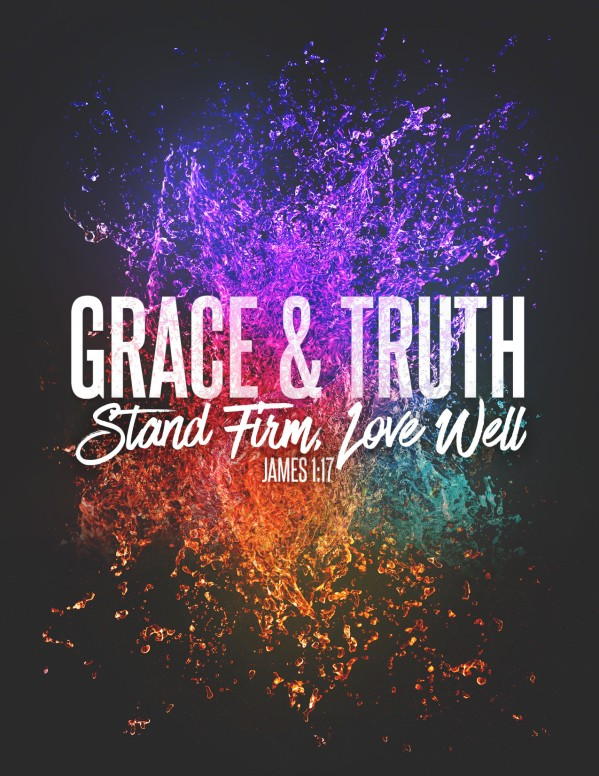 Grace And Truth Church Flyer