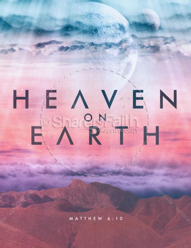 Heaven On Earth Church Flyer