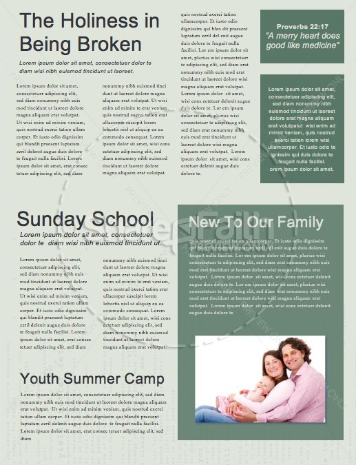 Words To Live By Church Newsletter | page 2