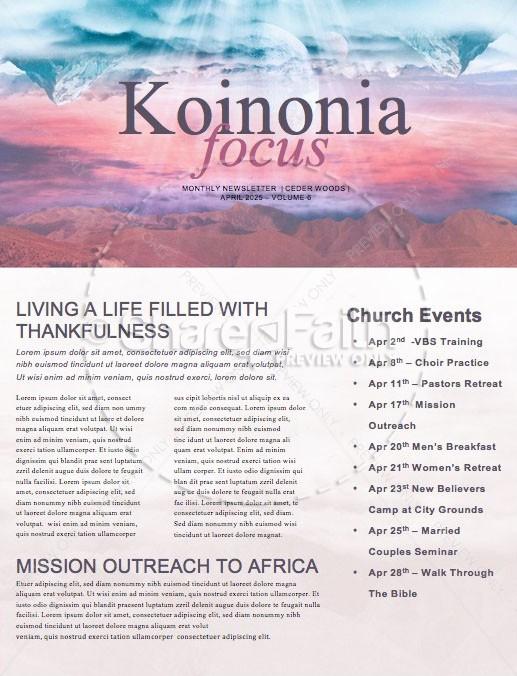 Heaven On Earth Church Newsletter