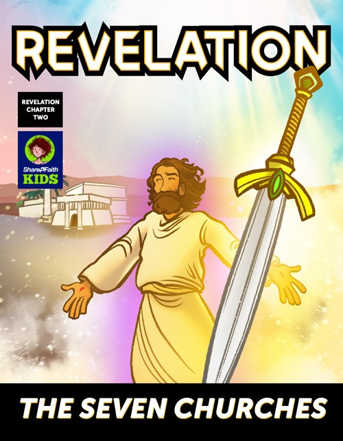 Revelation 2 The Seven Churches Digital Comic