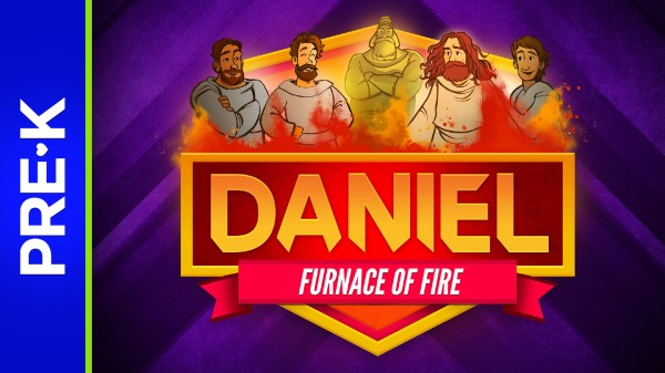 Daniel 3 The Fiery Furnace Preschool Bible Video