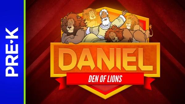 Daniel 6 Den of Lions Preschool Bible Video