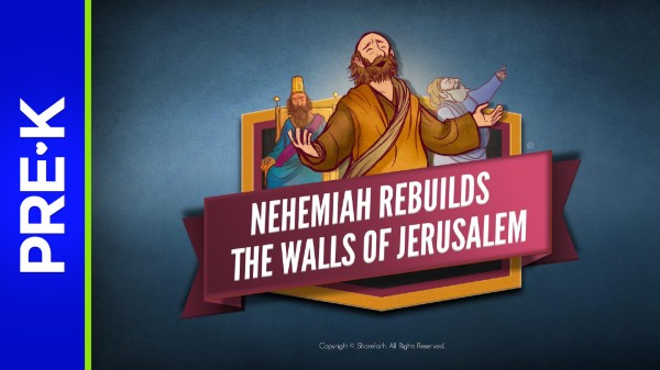 The Story of Nehemiah Preschool Bible Video