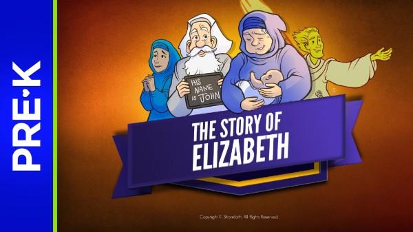 Luke 1 The Story of Elizabeth Preschool Bible Video