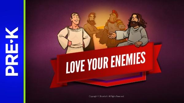 Matthew 5 Love Your Enemies Preschool Bible Video