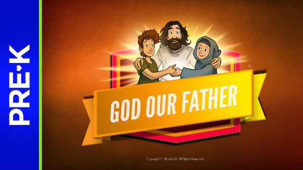 Matthew 6 God Our Father Preschool Bible Video