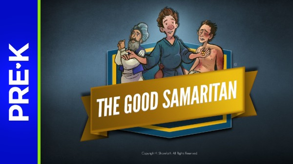 Luke 10 The Good Samaritan Preschool Bible Video