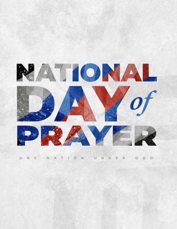 National Day Of Prayer Nation Church Flyer
