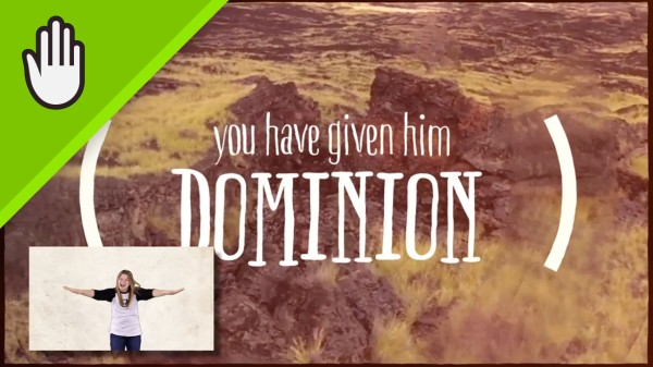 Dominion Kids Worship Video for Kids Hand Motions