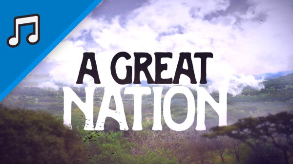 A Great Nation Kids Worship Video for Kids Instrumental